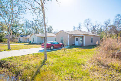 gulfport Single Family Home For Sale: 17423 South Blvd