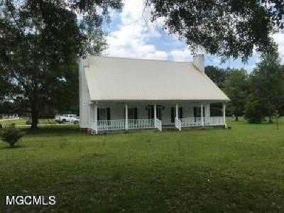 Gulfport Single Family Home For Sale: 12459 Quail Ridge Rd