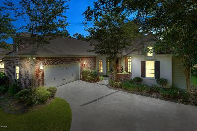 Pass Christian Single Family Home For Sale: 7424 Live Oak Way