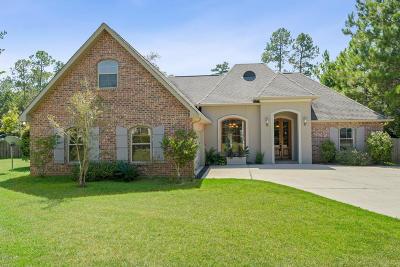 Diamondhead Single Family Home For Sale: 8446 Kimo Ct