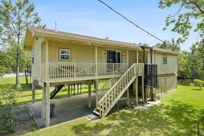 Bay St. Louis Single Family Home For Sale: 10087 River Dr