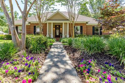 Ocean Springs Single Family Home For Sale: 1007 Magnolia Bayou Blvd