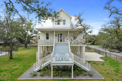 Bay St. Louis Single Family Home For Sale: 904 N Beach Blvd