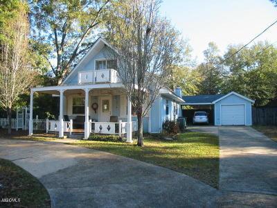 Diamondhead Single Family Home For Sale: 77112 Golf Club Dr