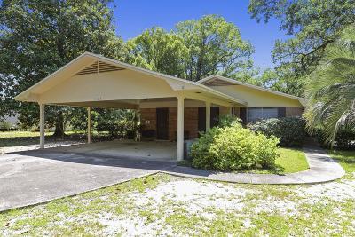 Ocean Springs Single Family Home For Sale: 1105 Cherokee