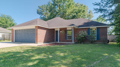 Ocean Springs Single Family Home For Sale: 7209 Cypress Cir