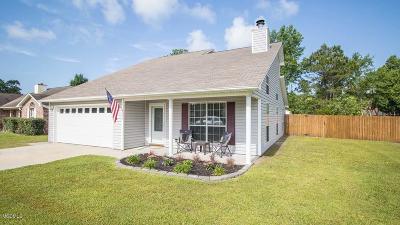 Ocean Springs Single Family Home For Sale: 3321 N 7th St