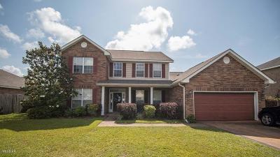 Ocean Springs Single Family Home For Sale: 3300 Joy Ln