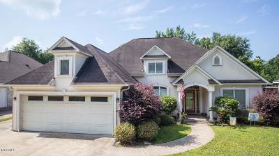 Ocean Springs Single Family Home For Sale: 9317 Live Oak Ave