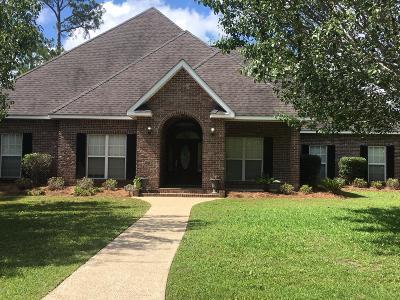 Ocean Springs Single Family Home For Sale: 8724 Live Oak Ave