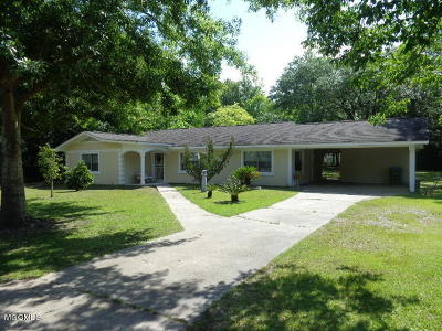 Gulfport MS Single Family Home For Sale: $179,000