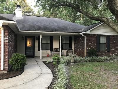 Ocean Springs Single Family Home For Sale: 1512 Deer St