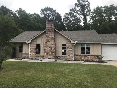 Ocean Springs Single Family Home For Sale: 7204 Greenbriar St
