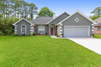 Ocean Springs Single Family Home For Sale: 3221 N 7th St