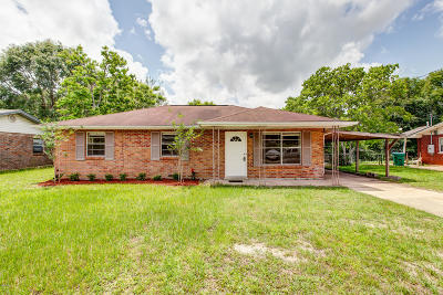 gulfport Single Family Home For Sale: 411 N Wilson Blvd
