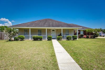 Ocean Springs Single Family Home For Sale: 11528 Bayou Pl