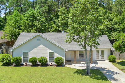 Ocean Springs Single Family Home For Sale: 6816 Red Bud Ln