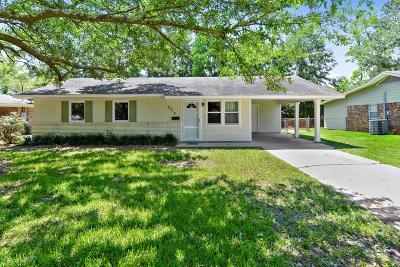 Gulfport Single Family Home For Sale: 3713 Oak Ave