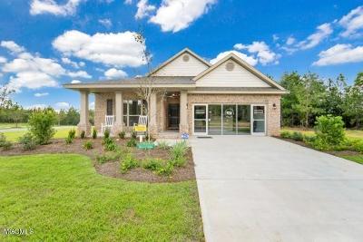 Ocean Springs Single Family Home For Sale: 6896 Sweetclover Ln