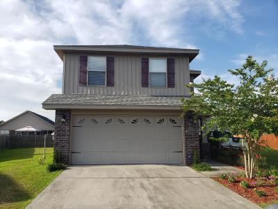 Gulfport Single Family Home For Sale: 14696 Canal Settlement Ln