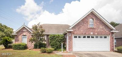 Ocean Springs Single Family Home For Sale: 2812 Rue Beaux Chenes