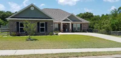Gulfport Single Family Home For Sale: 15951 Walker Farm Ln