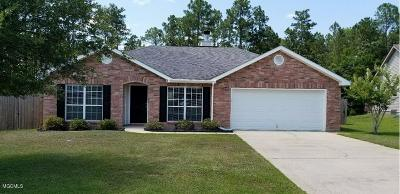Gulfport Single Family Home For Sale: 15326 Sugar Cane Cv