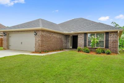 Saucier Single Family Home For Sale: 19601 Waltrip Way