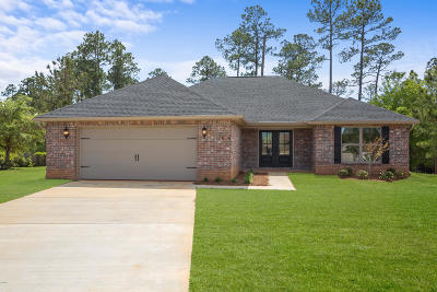 Gulfport Single Family Home For Sale: 15016 Haven Cv