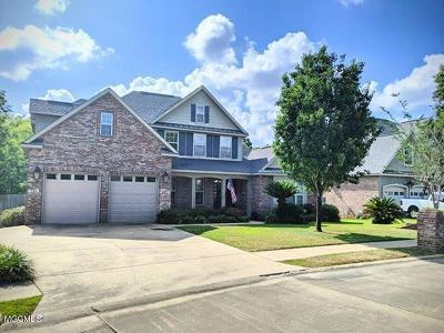 Biloxi Single Family Home For Sale: 741 Clover Pl