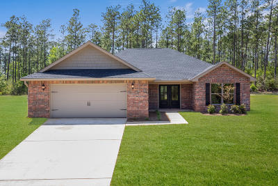 Saucier Single Family Home For Sale: 20965 W Wortham Rd