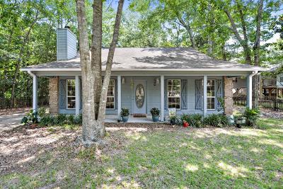 Ocean Springs Single Family Home For Sale: 3221 N 3rd St