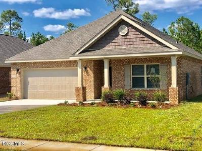 Ocean Springs Single Family Home For Sale: 6892 Sweetclover Drive
