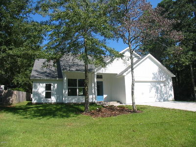 Diamondhead Single Family Home For Sale: 84116 Bayou Dr