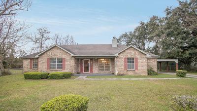 gulfport Single Family Home For Sale: 615 Baker St
