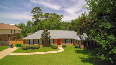Ocean Springs Single Family Home For Sale: 6217 Hermosa Dr