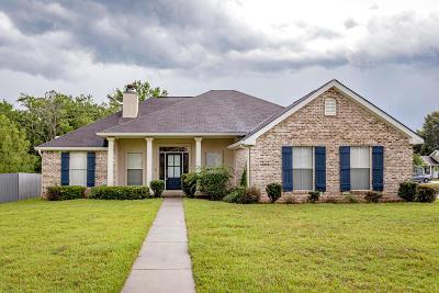 Gulfport Single Family Home For Sale: 13613 Hidden Oaks Dr