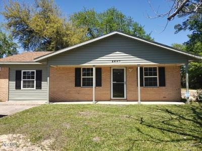 Gulfport Single Family Home For Sale: 2547 W David Dr