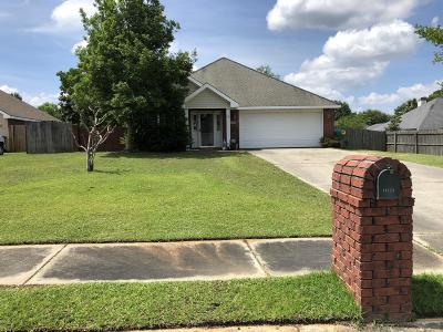 Gulfport Single Family Home For Sale: 11171 Hidden Creek Dr