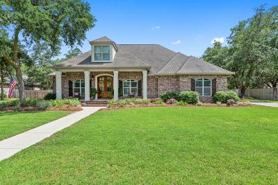 Ocean Springs Single Family Home For Sale: 3225 Oakleigh Cir