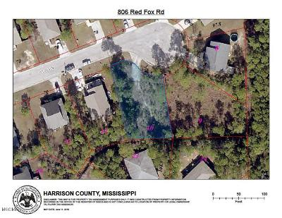 Pass Christian Residential Lots & Land For Sale: 806 Red Fox Rd