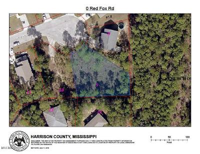 Pass Christian Residential Lots & Land For Sale: Red Fox Rd