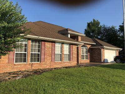 Gulfport Single Family Home For Sale: 15450 Ewing St
