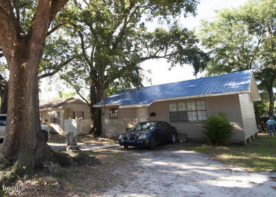 Biloxi Single Family Home For Sale: 1494 Guice Pl
