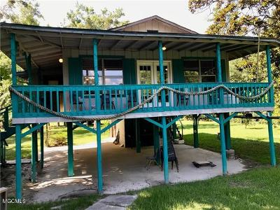 Biloxi Single Family Home For Sale: 11067 Woolmarket Lake Rd