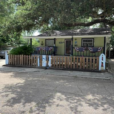 Biloxi Single Family Home For Sale: 179 Jefferson Davis Ave