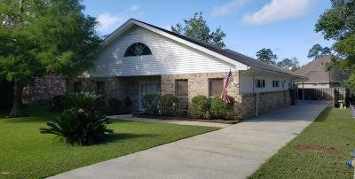 Diamondhead Single Family Home For Sale: 84107 Bayou Dr
