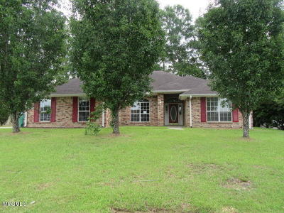 Gulfport Single Family Home For Sale: 11448 Magnolia Estates Ln