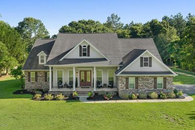Saucier Single Family Home For Sale: 11520 Hood Rd