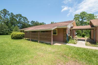 Gulfport Single Family Home For Sale: 10526 Bayou Bernard Rd